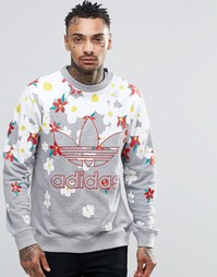 Свитшот adidas Originals X Pharrell AO2984 - Серый