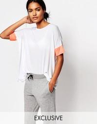 Свободная футболка со вставками Nocozo - Розовый