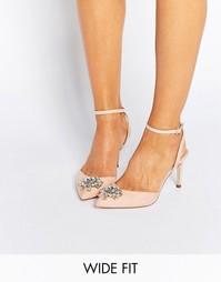 Туфли на каблуке для широкой стопы ASOS SOCIETY - Абрикос