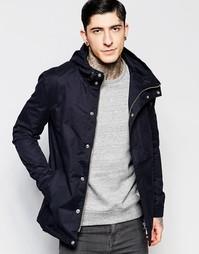 Дутая куртка с капюшоном Minimum - Черный