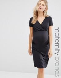 Платье для кормящих мам Mamalicious Anette - Черный Mama.Licious