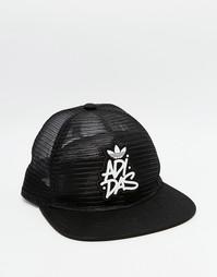 Сетчатая бейсболка adidas Originals - Черный