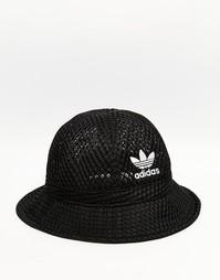 Сетчатая панама adidas Originals - Черный