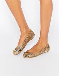 Туфли на плоской подошве Vivienne Westwood for Melissa Scribble