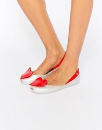 Туфли на плоской подошве Vivienne Westwood for Melissa Queen Heart