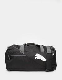 Черная сумка-дафл Puma Fundamentals 7348601 - Черный