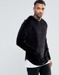 Велюровый свитер Kubban - Черный