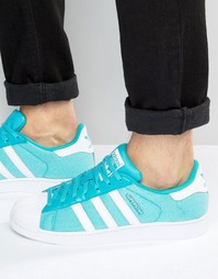 Кроссовки adidas Originals Superstar Summer Pack S75661 - Синий