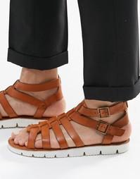 Кожаные сандалии Dune - Рыжий