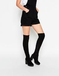 Ботфорты на каблуке ASOS KIAN - Черный