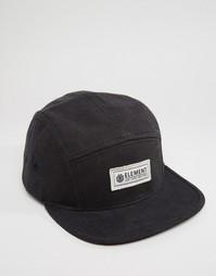 5-панельная кепка Element Elder - Черный