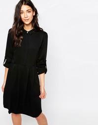 Платье-рубашка Gestuz Selma - Черный