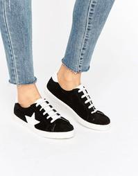 Замшевые кроссовки ASOS DYNAMO