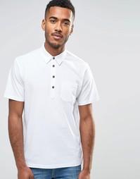 Трикотажная футболка-поло Farah - Белый