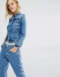 Классическая джинсовая куртка Calvin Klein Jeans - Rich light blue