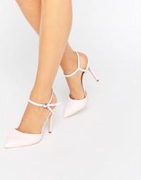 Туфли-лодочки с вырезами Public Desire Karlie - Лакированный розовый