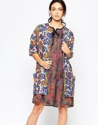 Пальто с короткими рукавами Ivana Helsinki Maarit - Разноцветный