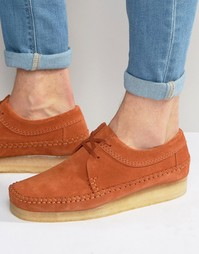 Туфли Clarks Originals Weaver - Оранжевый