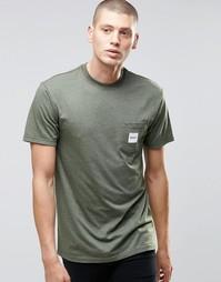 Футболка с карманом HUF - Военный