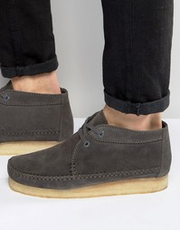 Ботинки Clarks Originals Weaver - Серый