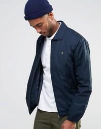Куртка Харрингтон на молнии Farah - Темно-синий