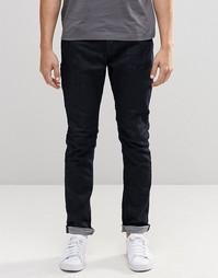 Синие стретчевые джинсы слим Only & Sons - Indigo - индиго