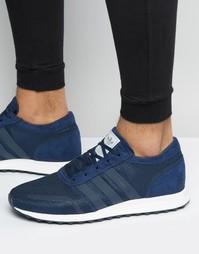 Темно-синие кроссовки adidas Originals Los Angeles S31532
