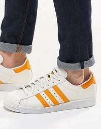 Кроссовки в стиле 80‑х adidas Originals Superstar S75842 - Белый