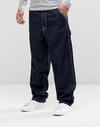 Oversize-джинсы цвета индиго ASOS - Indigo - индиго