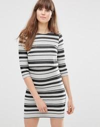 Платье в полоску Vero Moda - Черный