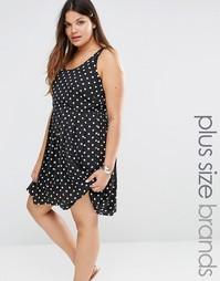 Платье без рукавов Junarose - Черный