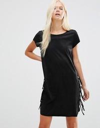 Цельнокройное платье Minimum Arti - Черный