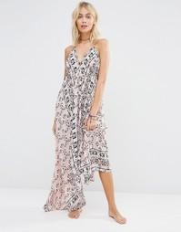Платье макси с платочным принтом Surf Gypsy