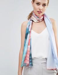 Длинный шелковый шарф с цветочным узором Ted Baker Fraya
