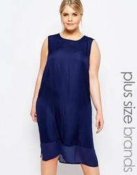 Платье-туника без рукавов Carmakoma - Темно-синий