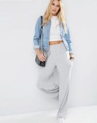 Широкие брюки ASOS - Серый