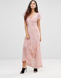 Платье макси с принтом Jayley - Мульти