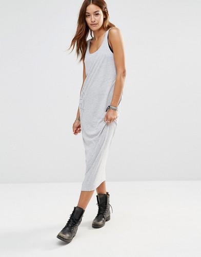 Трикотажное платье без рукавов G Star Be Raw - Серый