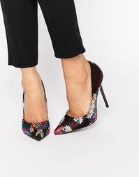 Туфли-лодочки с цветочным принтом Public Desire Josie