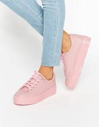 Кроссовки на платформе ASOS DAY TRIP - Розовый