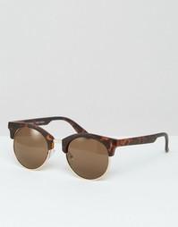 Солнцезащитные очки в черепаховой оправе Vero Moda