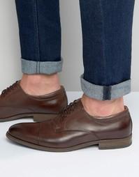 Коричневые кожаные оксфордские туфли ASOS Unilidia - Коричневый Aldo