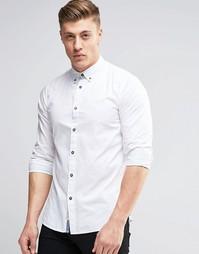 Хлопковая рубашка Produkt - Белый