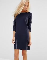 Цельнокройное платье с молниями сбоку Soaked In Luxury