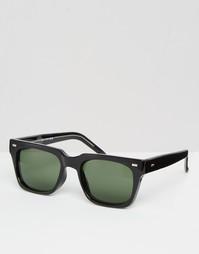 Солнцезащитные очки в квадратной оправе Spitfire - Черный