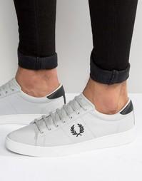 Парусиновые кроссовки Fred Perry Spencer - Серый