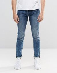 Зауженные спортивные джинсы Only and Sons - Выбеленный голубой