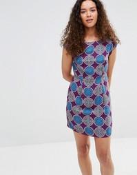 Платье с рукавами-оборками Jasmine - Серый