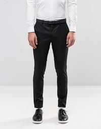 Черные облегающие брюки Jack & Jones Premium - Черный