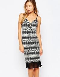Облегающее платье миди Love